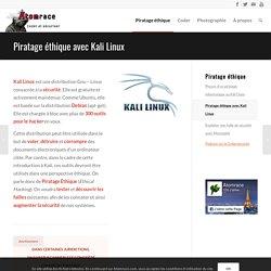 Piratage éthique avec Kali Linux - Atomrace