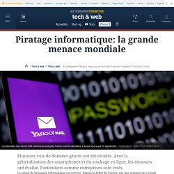 Piratage informatique: la grande menace mondiale
