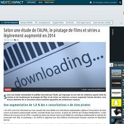 Selon une étude de l'ALPA, le piratage de films et séries a légèrement augmenté en 2014