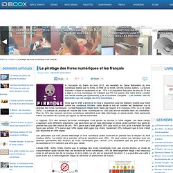 Le piratage des livres numériques et les français