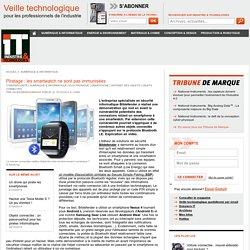 Piratage : les smartwatch ne sont pas immunisées