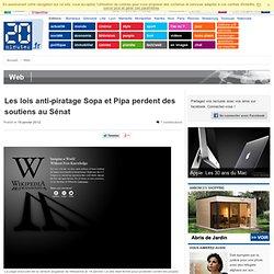 Les lois anti-piratage Sopa et Pipa perdent des soutiens au Sénat