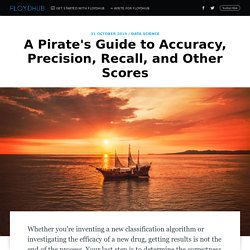 A Pirate's Guide to Accuracy, Precision, Recall, and Other Scores
