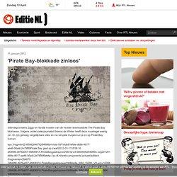 'Pirate Bay-blokkade zinloos' - EditieNL - RTL.NL
