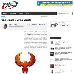 The Pirate Bay de nuevo se encuentra en línea