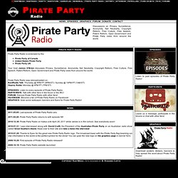 Pirate Party Radio | RantMedia