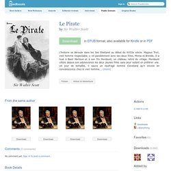 Le Pirate - Sir Walter Scott