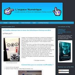 La PirateBox débarque dans le réseau des bibliothèques d'Aulnay-sous-Bois