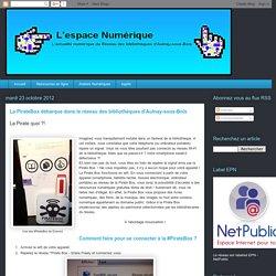 La Pirate Box débarque dans le réseau des bibliothèques d'Aulnay-sous-Bois