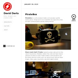 PirateBox - David Darts Wiki