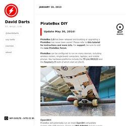 PirateBox DIY by David Darts