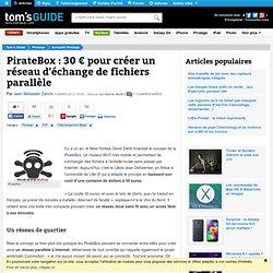 PirateBox : 30 € pour créer un réseau d'échange de fichiers parallèle