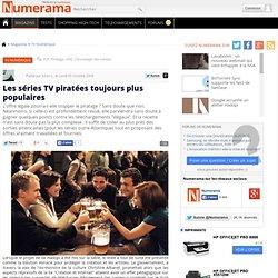 Les séries TV piratées toujours plus populaires - Numerama
