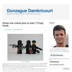 Pirater une voiture pour la voler ? (Trop) Facile - Gonzague Dambricourt