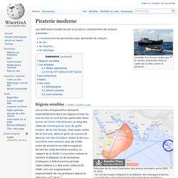 Piraterie moderne