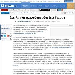 Les Pirates européens réunis à Prague