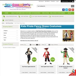 Kids Pirates Fancy Dress Costumes at Fancy Dress and Party