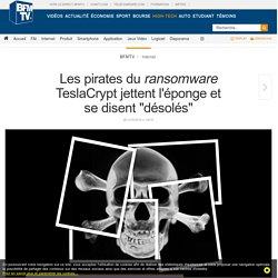 Les pirates du ransomware TeslaCrypt jettent l'éponge et se disent « désolés »