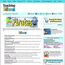 Teaching Themes - Pirates