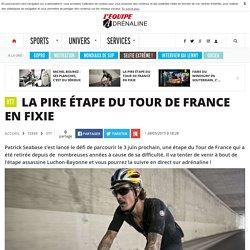 Vtt - La pire étape du tour de France en fixie