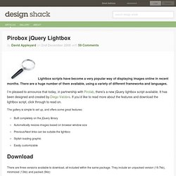 Pirobox jQuery Lightbox
