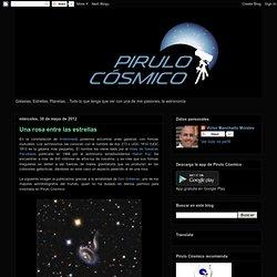 Pirulo Cósmico: Una rosa entre las estrellas