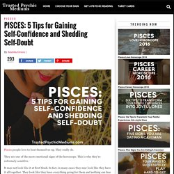 PISCES: 5 Tips for More Self-Confidence and Less Self-Doubt