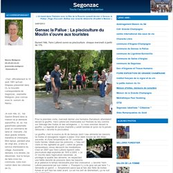 Gensac la Pallue : La pisciculture du Moulin s'ouvre aux touristes : Segonzac
