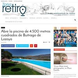 Abre la piscina de 4.500 metros cuadrados de Buitrago de Lozoya