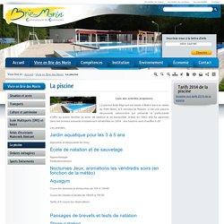 La piscine / Vivre en Brie des Morin / Accueil - Site de la Communauté de Communes de la Brie des Morin