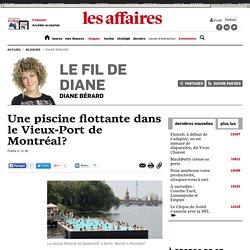Une piscine flottante dans le Vieux-Port de Montréal?