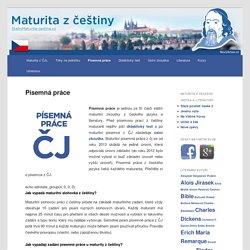 Státní maturita z češtiny ONLINE