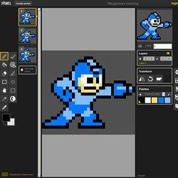 Piskel - Megaman moving