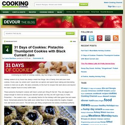 Pistachio Thumbprint Cookies Recipe