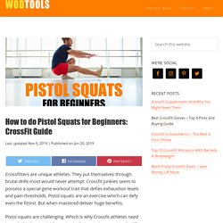 How to do Pistol Squats for Beginners