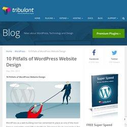 10 Pitfalls of WordPress Website Design