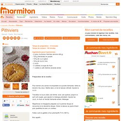 Pithiviers : Recette de Pithiviers