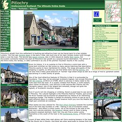 Pitlochry Feature Page on Undiscovered Scotland