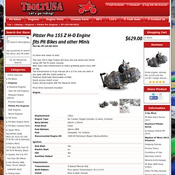 Pitster Pro 155 Z H-O Engine fits Pit Bikes and other Minis - Engines - Pitster Pro Engines - PP-155-HO-0522 - TBolt USA, LLC