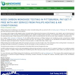 Get it Free with Any Service from Philips Heating & Air Conditioning