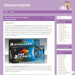 Australian Kangaroo Pills