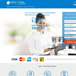Pivotal Payments Offer