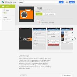 Piwigo - AndroidMarket