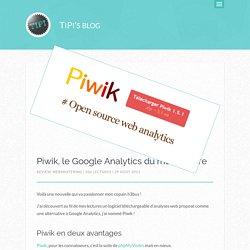 Piwik, le Google Analytics du monde libre