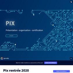 PIx rentrée 2020