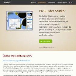 PixBuilder Studio - Éditeur photo gratuit - WnSoft