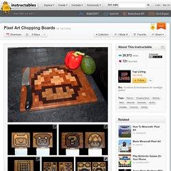 Pixel Art Chopping Boards