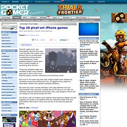 Top 10 pixel-art iPhone games