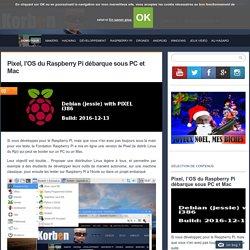 Pixel, l'OS du Raspberry Pi débarque sous PC et Mac