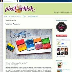 Pixel Whisk: Rothko Cookies